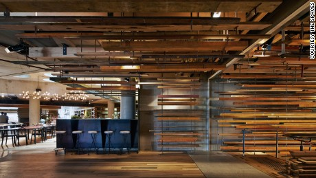 Hotel Hotel in Canberra, Australia, designed by March Studio