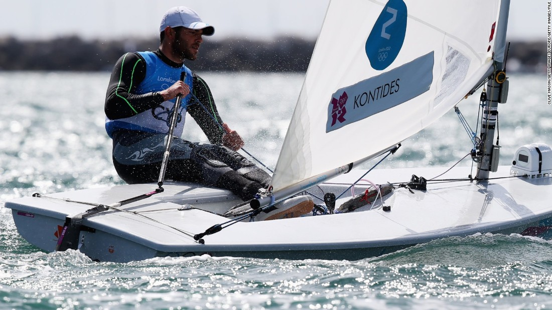 "In 2012 he became the first Cypriot to win an Olympic medal. Now the laser class sailor is targeting gold in Rio de Janeiro. <a href=""http://edition.cnn.com/2016/02/24/sport/pavlos-kontides-cyprus-sailing-olympics/index.html"" target=""_blank"">Read more</a>"