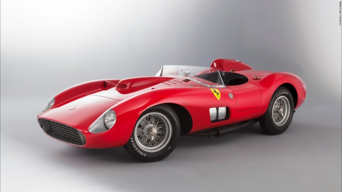 The car's numerous Grand Prix finishes at races around the world helped Ferrari win the World Constructors' Title in 1957. Estimated auction sale price: $30 - $34 million (€28 - €32 million).