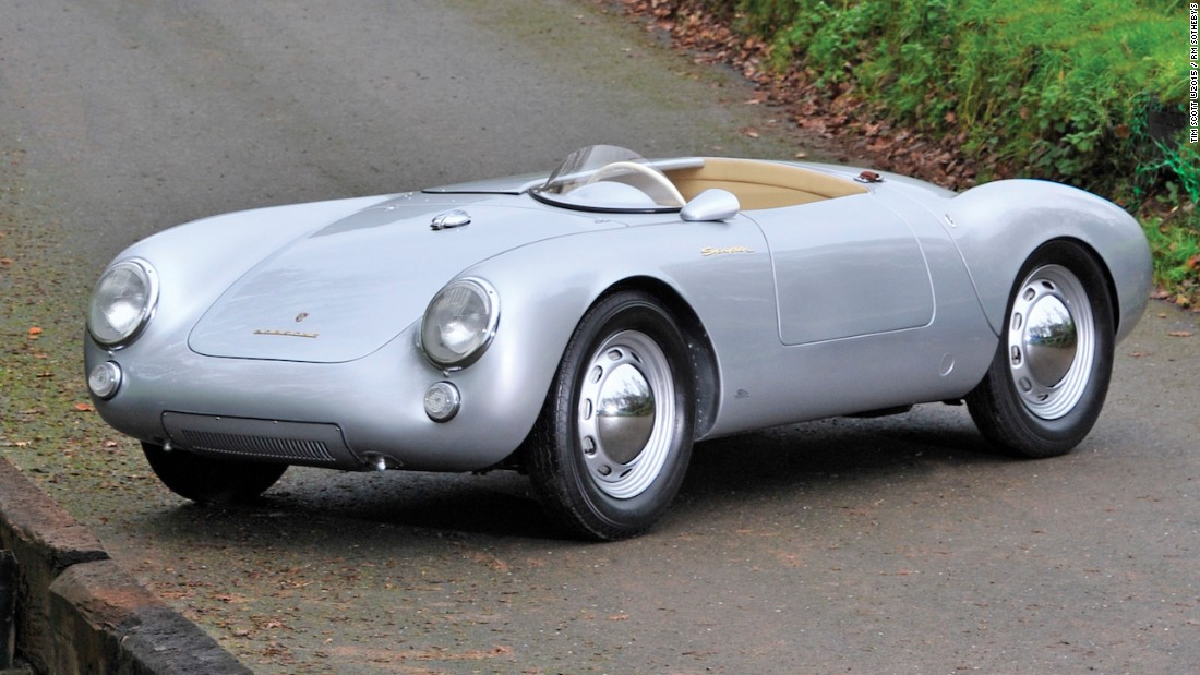 "Shown at the Frankfurt Motor Show in 1955, this is one of just 75 factory-built ""customer"" 550s. Estimated auction sale price: $2.4 - $2.8 million (€2.2 - €2.6 million)"