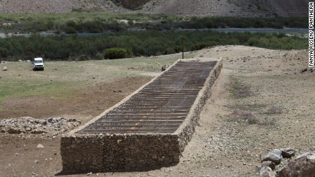 A predator proof corral built for two villages in Ghund Valley, Tajikistan.