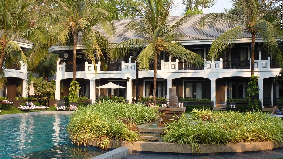 Centrally located in the French Quarter, Shinta Mani Resort in Siem Reap, Cambodia, is 15 minutes from Angkor Wat. The resort is ranked No. 2 on TripAdvisor's global hotels list.