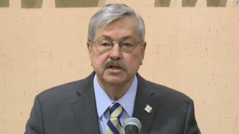 Iowa Gov. Branstad: Voting for Cruz 'a mistake'