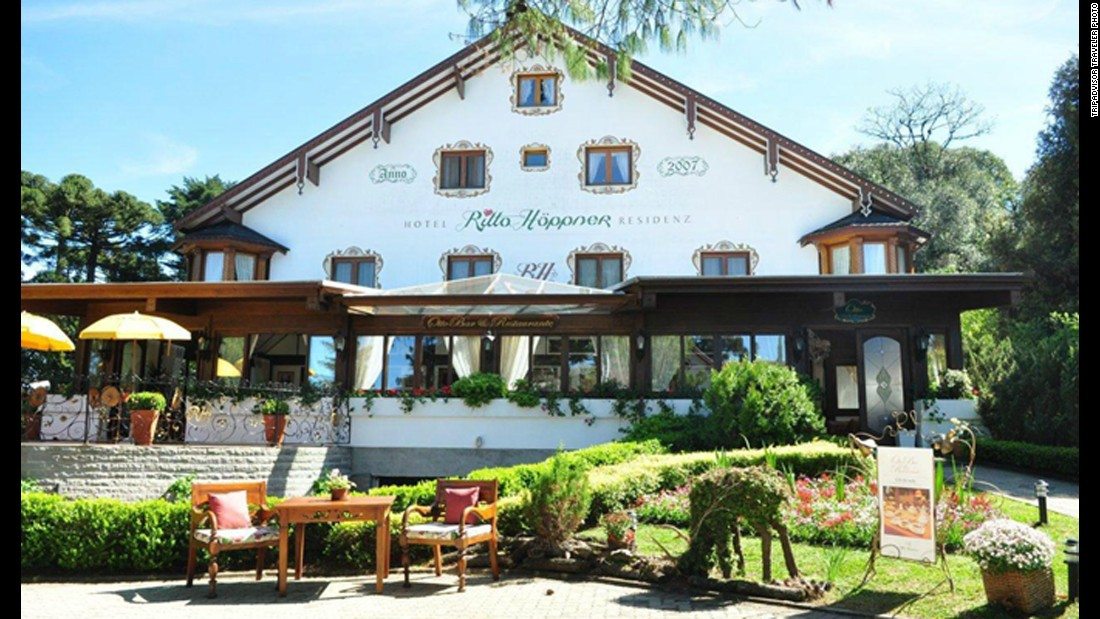 Located in Gramado, Brazil, charming Hotel Ritta Höppner ranks 10th on the list.