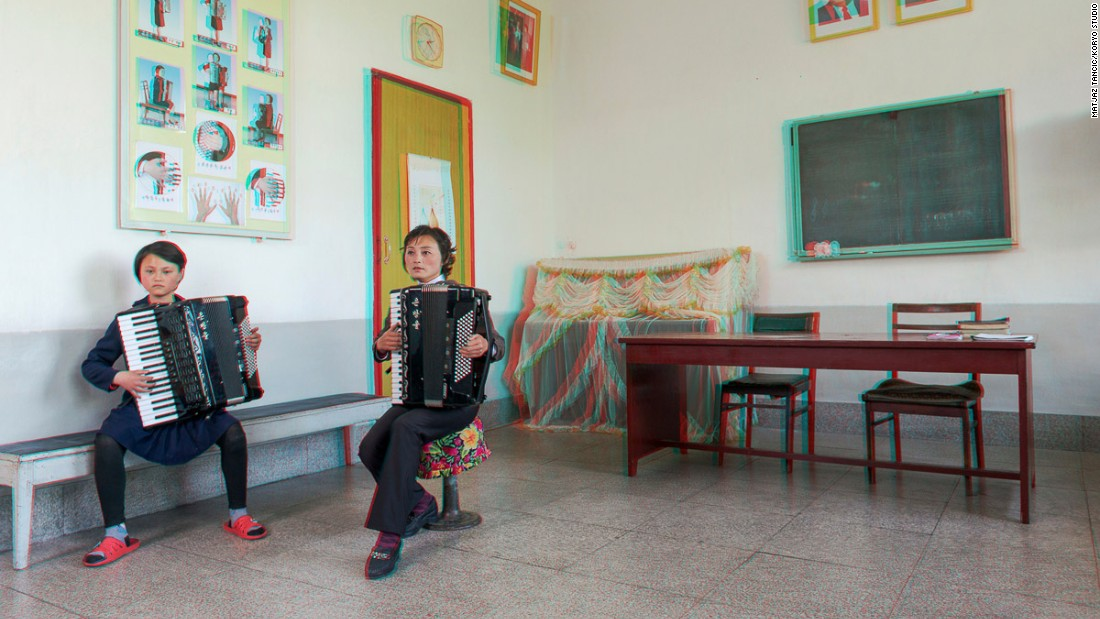 """Everyone sees the super talented kids playing accordions, or guitars, in North Korea. So I expected it, but this girl was really amazing -- she was playing traditional music but it sounded like she was playing underground jazz from New York City ... Every time I think about it, I still get goosebumps,"" says Tančič."
