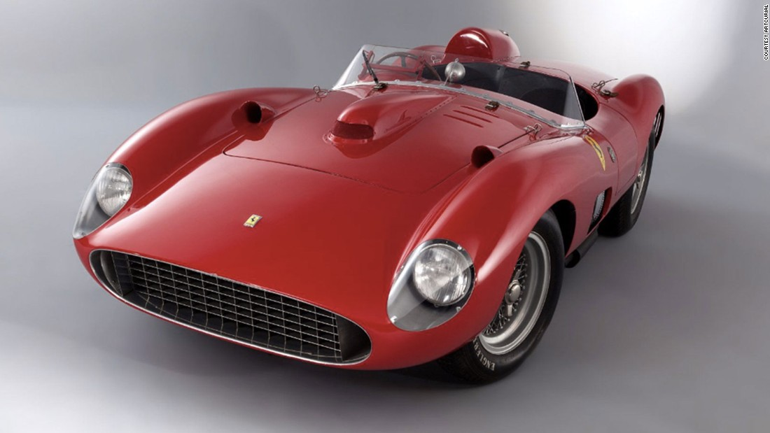 The Retromobile Classic Car show in France will take place between between 3-7 February. A 1957 Ferrari 335 S Spider Scaglietti could beat auction records, as it is currently estimated to sell for $34 million.