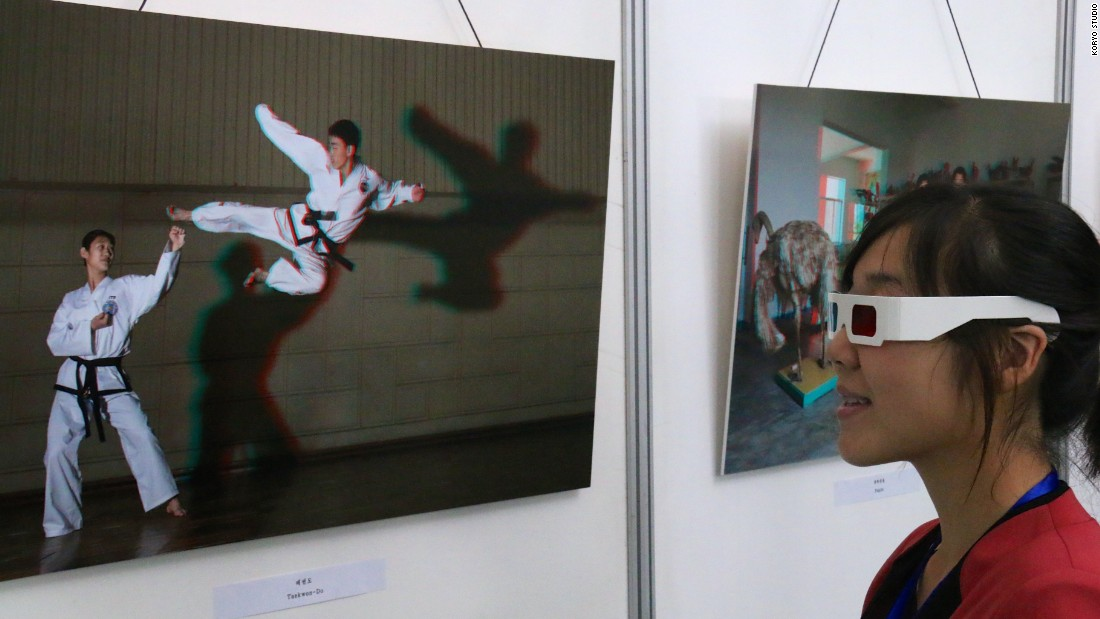 Koryo Studio -- the first Western art gallery to commission, exhibit and sell work by artists living and working in North Korea -- held an exhibition of Tančič's work at the Chollima House of Culture, in the capital of Pyongyang.
