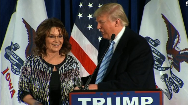 Sarah Palin: Trump will 'kick ISIS' ass'
