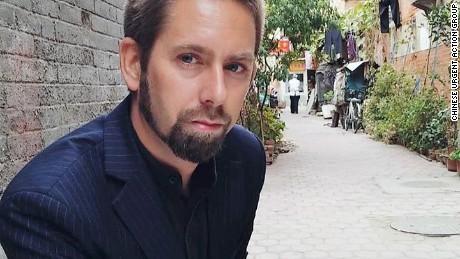 Swedish human rights advocate Peter Jesper Dahlin