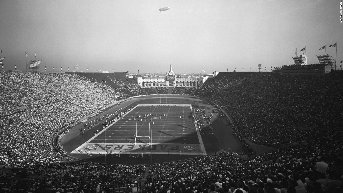 The Los Angeles Memorial Coliseum was the site of the first-ever Super Bowl. The game, played on January 15, 1967, pitted the NFL champion Green Bay Packers against the AFL champion Kansas City Chiefs. The rival leagues merged a few years later.
