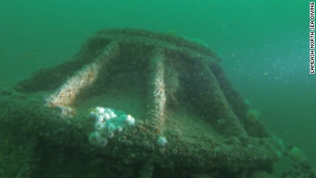 German WWI submarine ID'd off England's coast