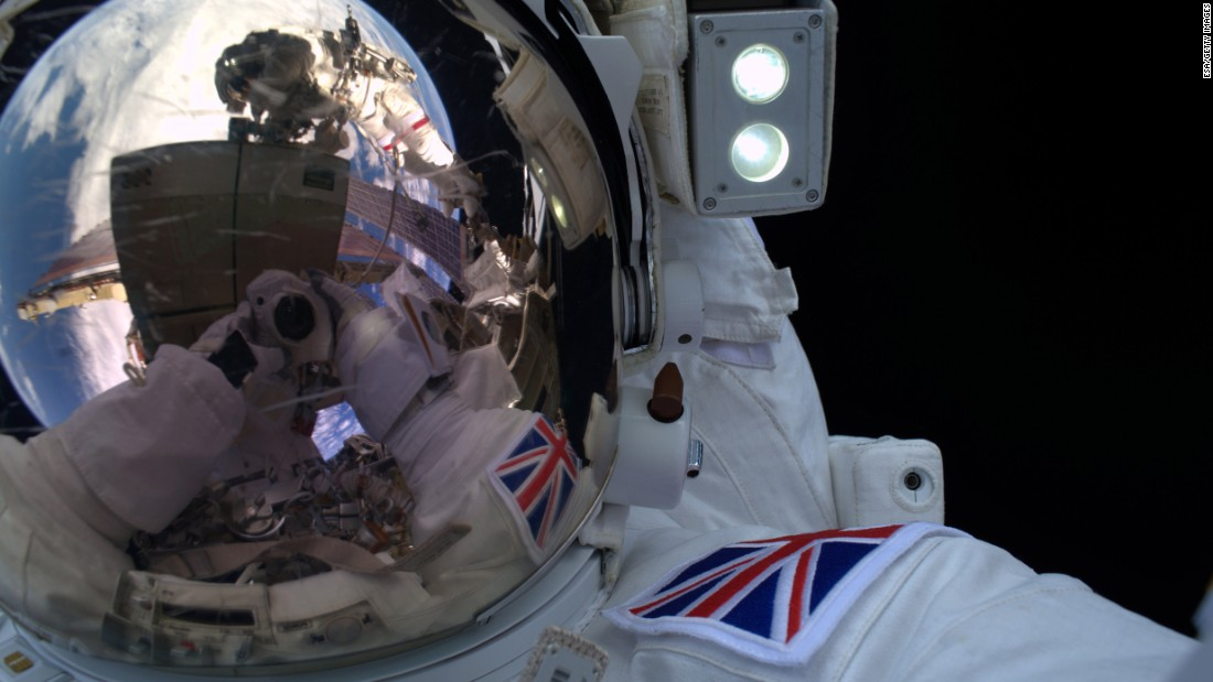 "Tim Peake, an astronaut with the European Space Agency, works outside the International Space Station on Friday, January 15. He is <a href=""http://www.cnn.com/2016/01/15/world/british-astronaut-tim-peake-spacewalk/"" target=""_blank"">the first British astronaut to walk in space. </a>""Today's exhilarating #spacewalk will be etched in my memory forever -- quite an incredible feeling!"" Peake tweeted."