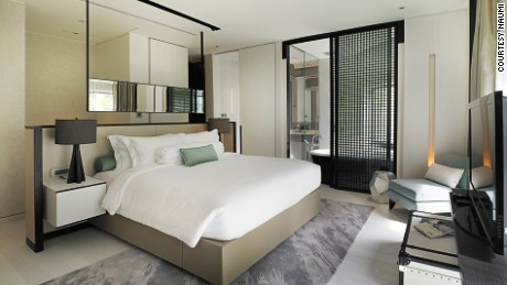 The Gabrielle and Camellia suites at Naumi are a homage to Coco Chanel.