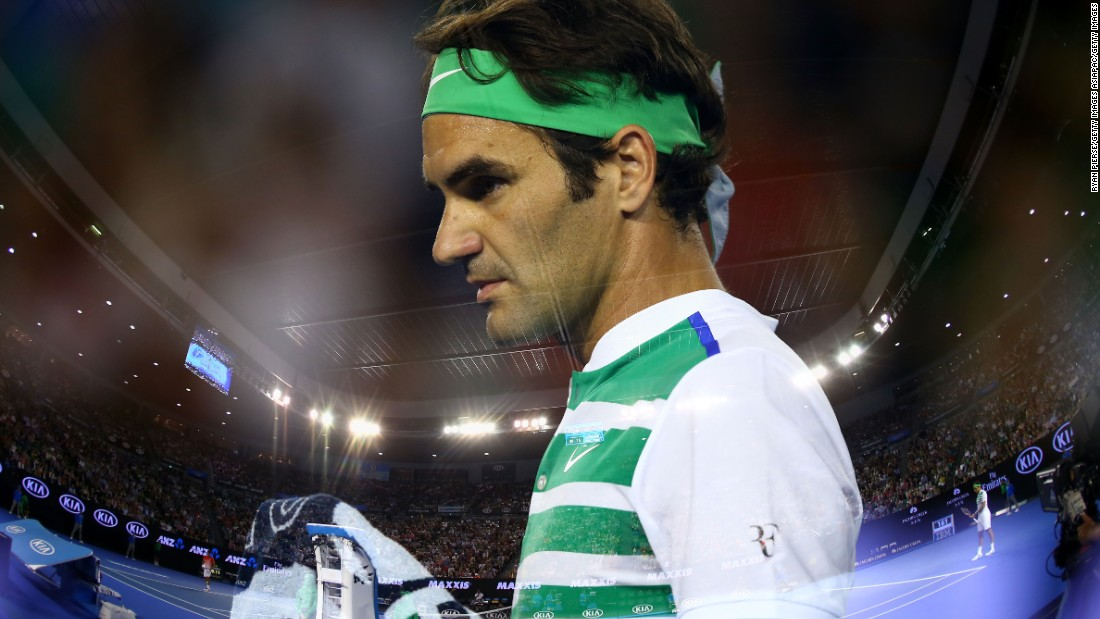 Roger Federer has said players have to deal with the weather -- which in this city can be fickle, with temperatures often soaring and plummeting from day to day.