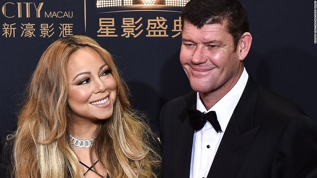 Singer Mariah Carey and Australian billionaire James Packer got engaged in January just a few months after they were first seen cozying up together.