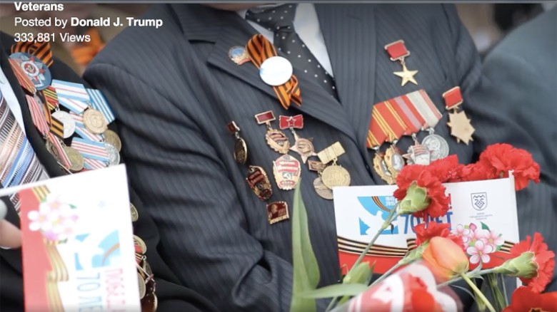 Trump video mistakes Soviets for U.S. vets