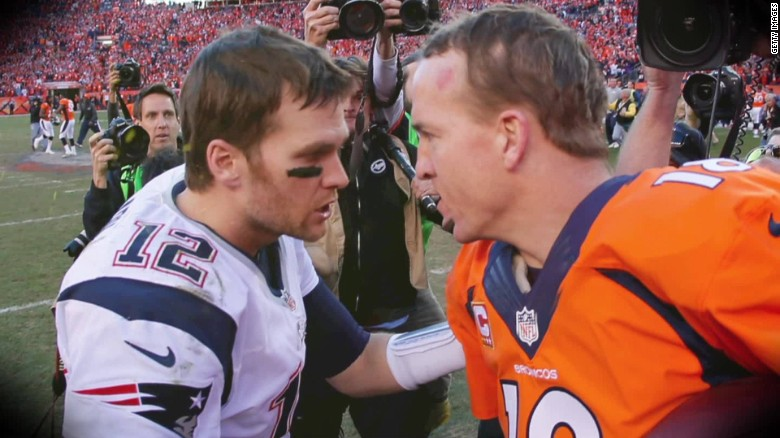 peyton manning vs tom brady essay Comparison essay tom brady and peyton manning are undoubtedly two of the  greatest quarterbacks to ever grace a football field but one.