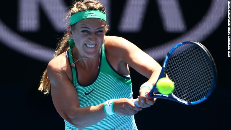 "Victoria Azarenka says she ""looks forward to hopefully having positive developments soon so that this difficult situation can be resolved"" so she can resume competing."