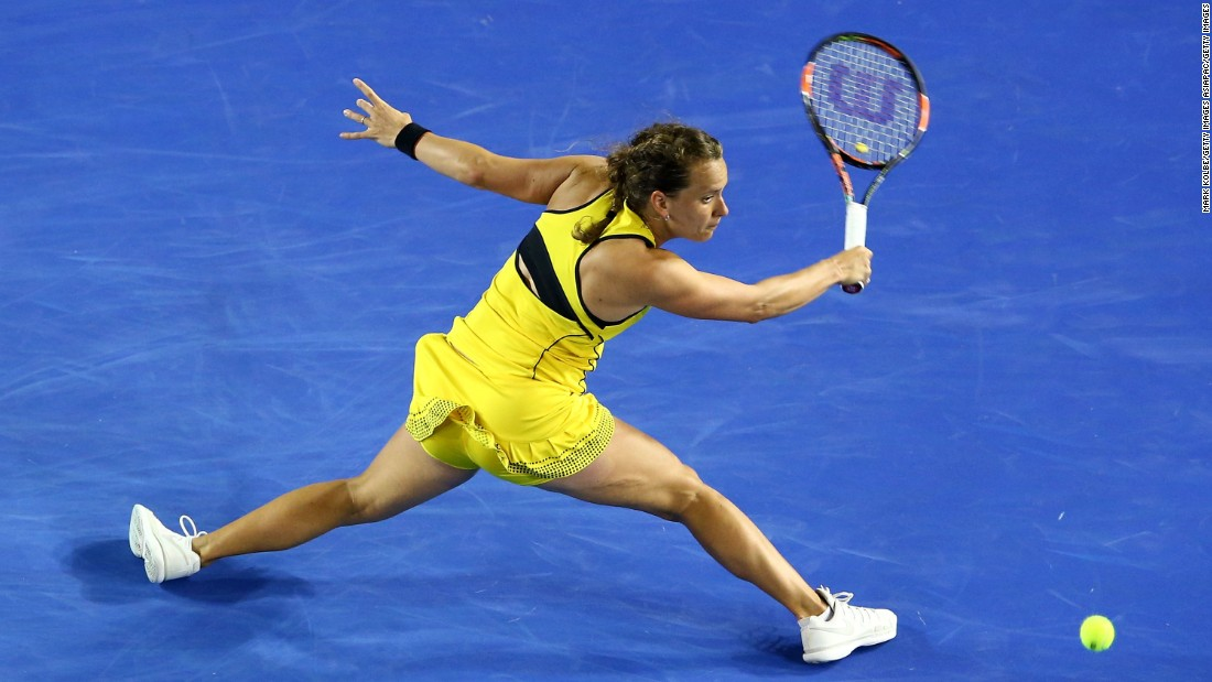Strycova will now face Victoria Azarenka who hasn't lost a set this year.