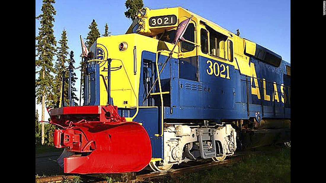 "The cars of this <a href=""http://www.tripadvisor.com/Hotel_Review-g60826-d73899-Reviews-The_Aurora_Express-Fairbanks_Alaska.html"" target=""_blank"">restored train</a> sit on 700 feet of railroad track overlooking the Tanana River, Alaska Range and city of Fairbanks."