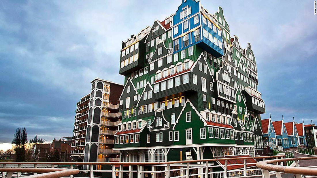 "Inspired by the architecture of traditional houses of the Zaan region, the green facade of <a href=""http://www.tripadvisor.com/Hotel_Review-g188600-d1758177-Reviews-Inntel_Hotels_Amsterdam_Zaandam-Zaandam_North_Holland_Province.html"" target=""_blank"">Inntel Hotel Zaandam </a>is eye-catching even from afar."