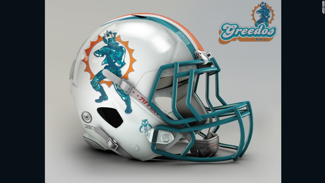 "Who shot first? If you're a hardcore Star Wars fan, you'll be well aware of the controversy over the scene from Episode IV involving Han Solo and bounty hunter Greedo, whose snout is a close enough match for the <a href=""http://www.miamidolphins.com/"" target=""_blank"">Miami Dolphins</a>."