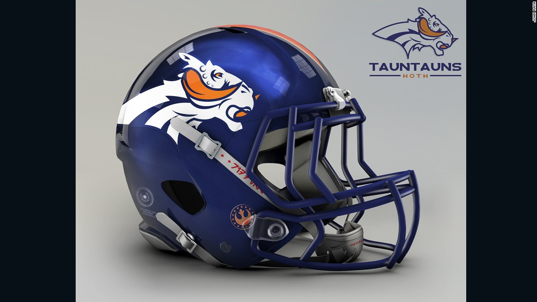 "The <a href=""http://www.denverbroncos.com/"" target=""_blank"">Denver Broncos</a> have turned from wild horses to furry alien lizards, the Tauntauns native to the icy planet of Hoth."