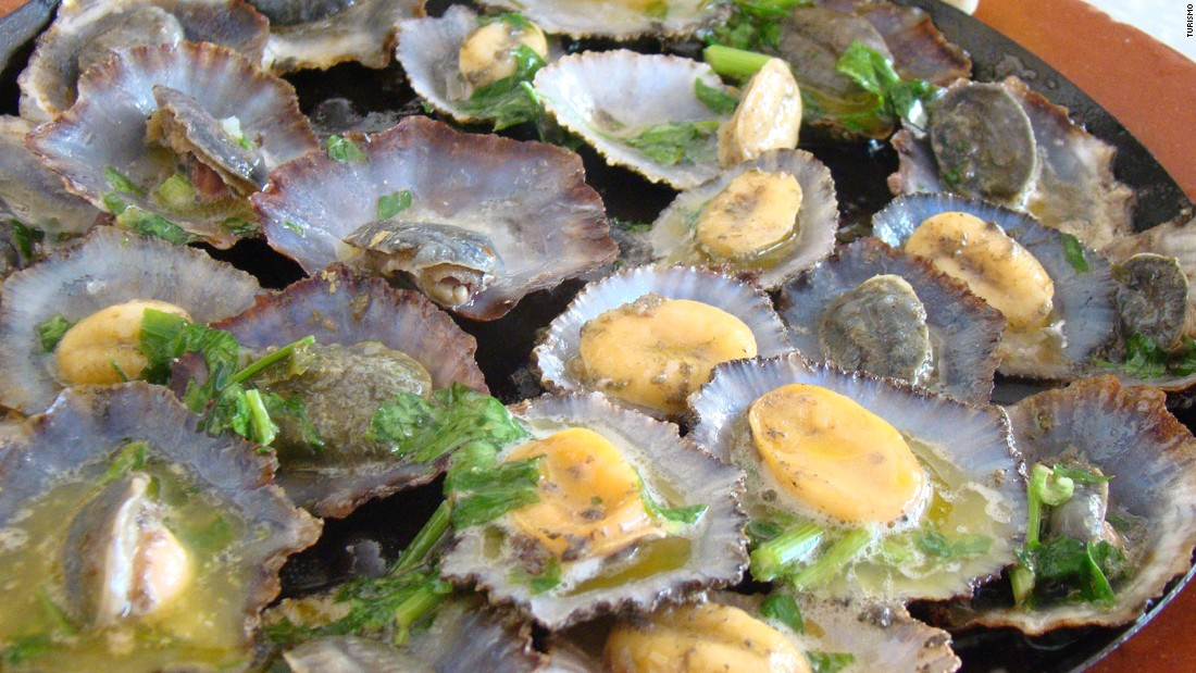 Lapas -- chewy limpets broiled in butter and garlic -- are among the highlights for seafood fans.
