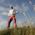 Ian Poulter Union Jack trousers