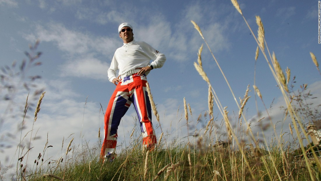 Poulter's Union Jack pants for the 2004 Open caused quite a flutter.