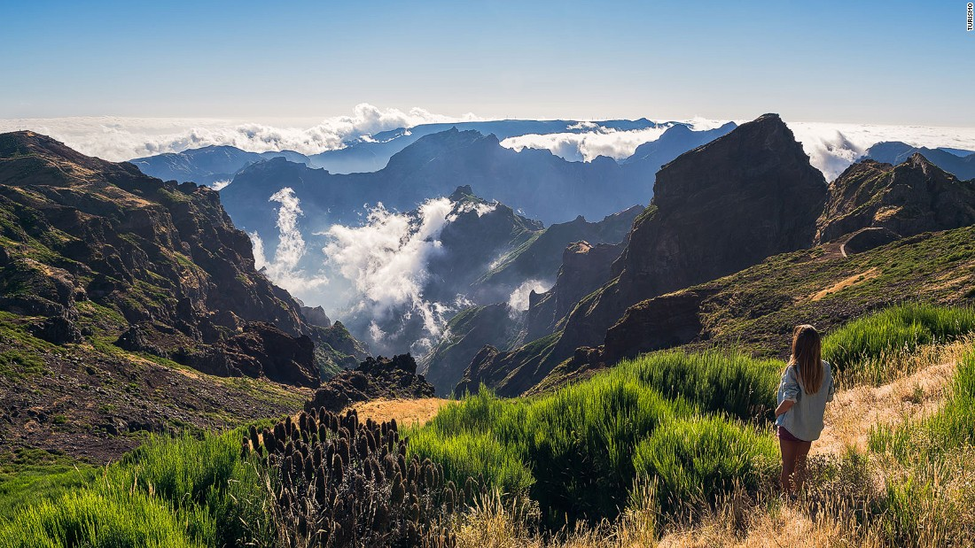 Madeira is reinventing itself as a diverse destination that appeals to a younger crowd. Among the attractions are hikes atop Pico do Arieiro.