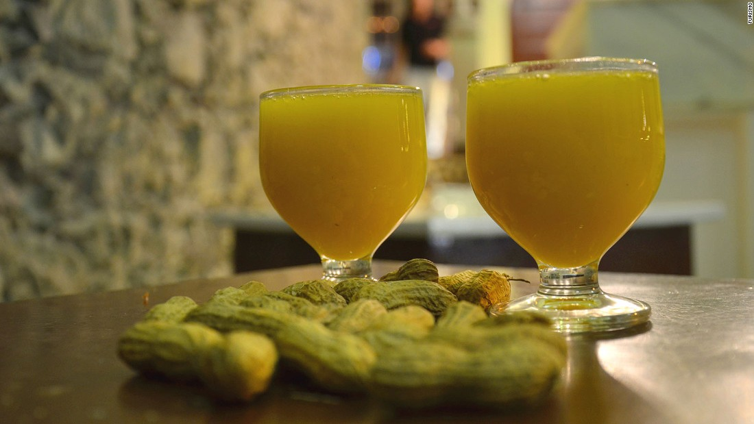 Madeira is famed for its wines, but locals also drink a potent brew called poncha. It's traditionally made from aguardente de cana (island rum) with lemon juice and honey.