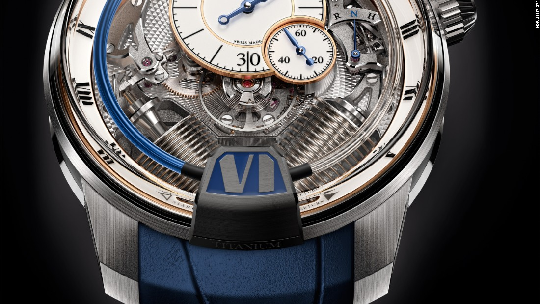 """We have always said that we would never create a classic piece. Having said that, this is exactly what we've done!"" said <a href=""http://www.hytwatches.com/"" target=""_blank"">HYT</a> CEO Vincent Perriard in a press release. H2 Tradition tries to combine the brand's futuristic vision with the hallmarks of traditional watchmaking."