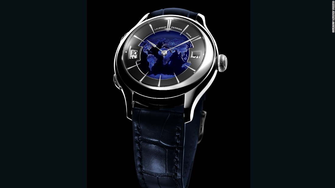 "Thanks to this newly unveiled model from <a href=""http://www.laurentferrier.ch/en/"" target=""_blank"">Laurent Ferrier</a>, you can observe the entirety of Earth on your wrist."