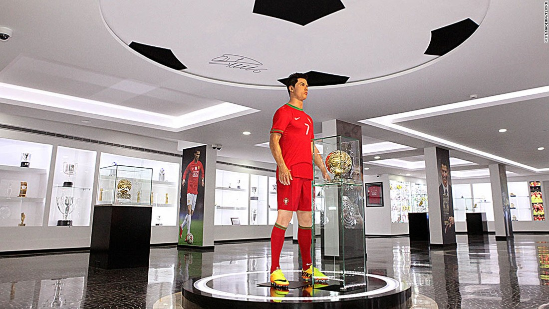 Cristiano Ronaldo hails from Madeira and first kicked balls at local youth teams before moving on to megastardom at Manchester United and Real Madrid. In 2013, the island opened the CR7 museum, showcasing his famed No. 7 shirts and other memorabilia.