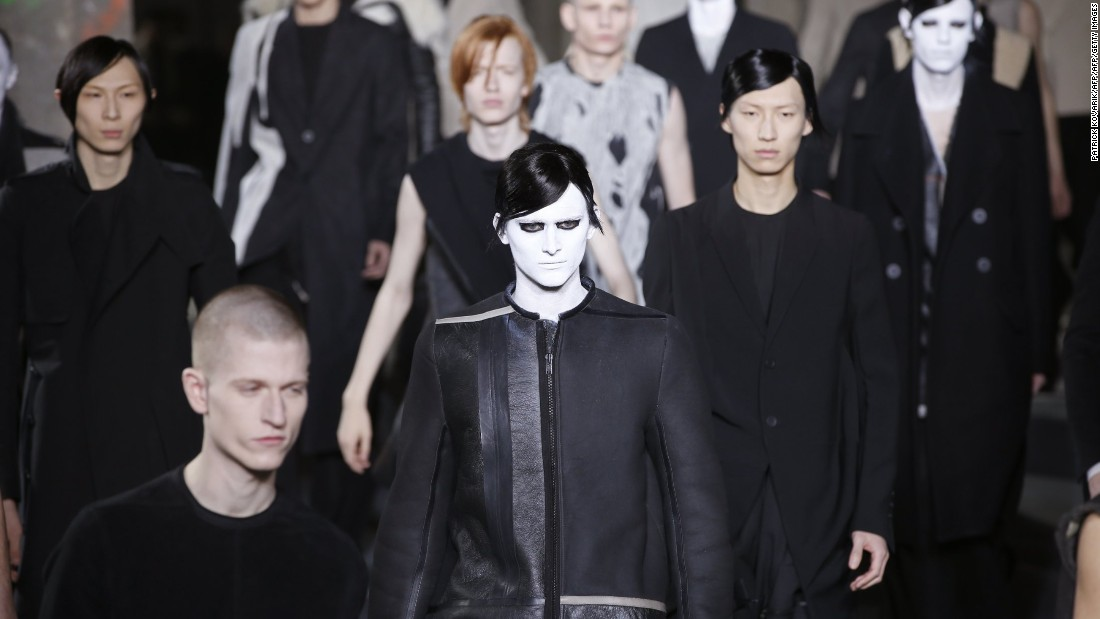 Black? Unconventional silhouettes? Leather? Rick Owens is nothing if not refreshingly consistent.