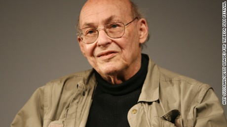 Marvin Minsky, pictured in 2008, died Sunday of a cerebral hemorrhage.