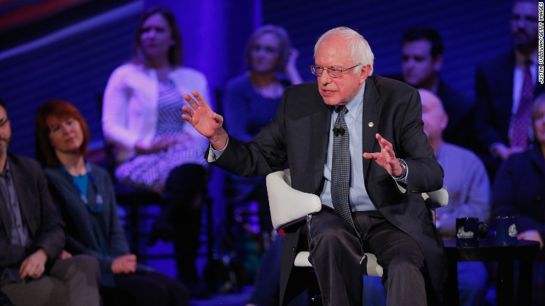 Bernie Sanders: Wall Street tax will pay for college