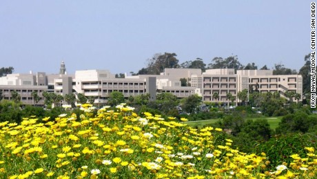 A shooter was reported at Naval Medical Center San Diego on Tuesday.