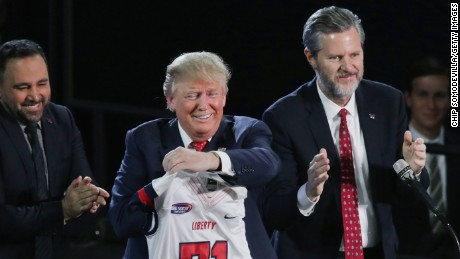 Evangelical leader Jerry Falwell Jr. to lead education task force for Trump