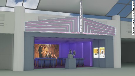 The newest airport amenity? Movie theaters