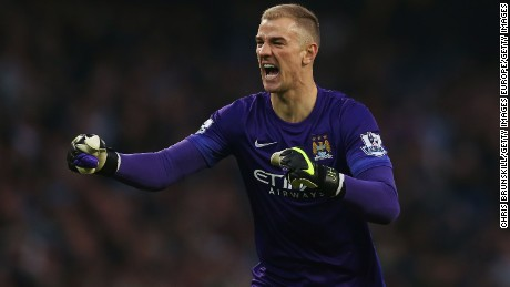Manchester City goakeeper Joe Hart has been in fine form.