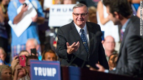 "Joe Arpaio of Maricopa County in Arizona  has been dubbed ""America's toughtest sheriff."""