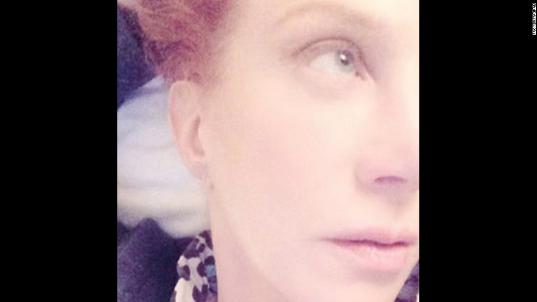 "Comedian Kathy Griffin takes a close-up shot on Monday, January 25. ""Here I am #Kathy trying 2b like @madonna w one of those (super filtered) 'no make up' pics,"" <a href=""https://www.instagram.com/p/BA9J93nNDIr/"" target=""_blank"">Griffin said on Instagram.</a>"
