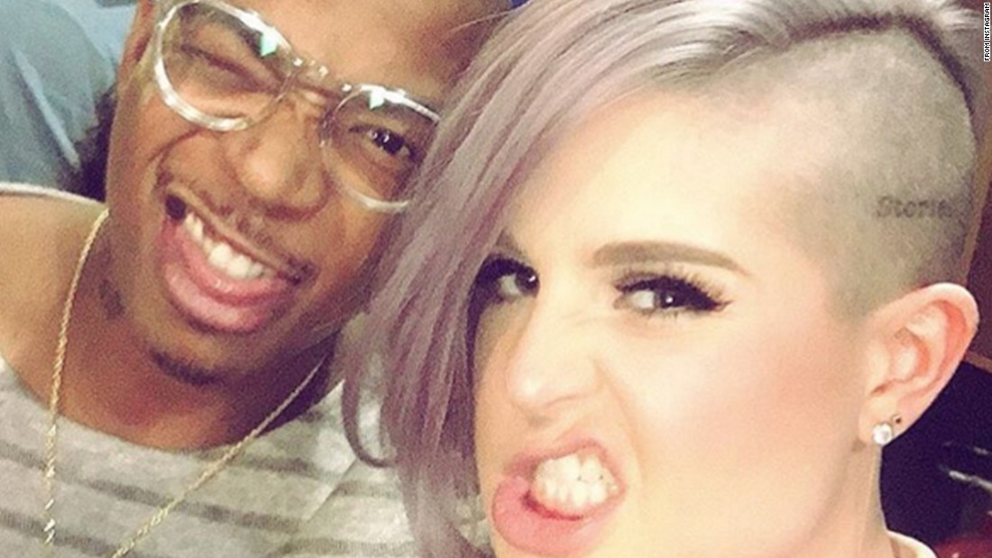 "Singer Kelly Osbourne makes a mean face with rapper Ja Rule on Thursday, January 21. ""I love @ruleyorkcity sooooo much,"" <a href=""https://www.instagram.com/p/BAz-zQ9gb4E/"" target=""_blank"">Osbourne said on Instagram.</a> ""I hosted my very first red carpet with him. It was so great to catch up with you last night. Let's make @mtv give us a red carpet reunion!!!!"""