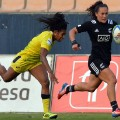 Portia Woodman Sevens: with ball vs Australia