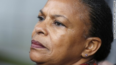 Christiane Taubira resigned as justice minister in protest.
