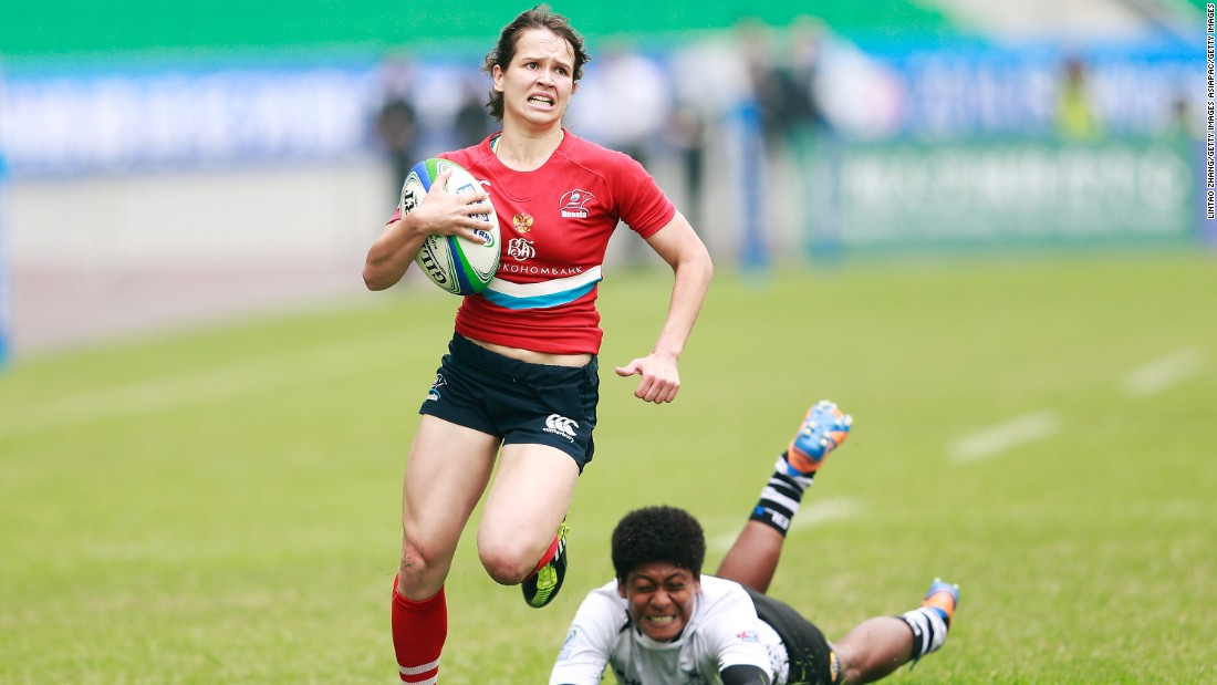 """She's the stalwart of the team and is involved with everything the team does,"" Scarratt says of Russia's captain, who was shortlisted for the 2015 World Sevens player of the year award. ""She's deceivingly quick but really tough and is at the heart at all the action."""