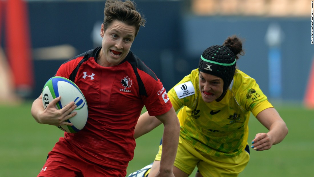 "She finished the 2014-15 season first overall in scoring with 301 points and her 521 points are the second highest in World Rugby Women's Sevens Series history behind <a href=""http://edition.cnn.com/2016/04/06/sport/portia-woodman-rugby-sevens-olympics-netball/"" target=""_blank"">New Zealand's Portia Woodman</a>. ""She's very quick,"" Scarratt says."