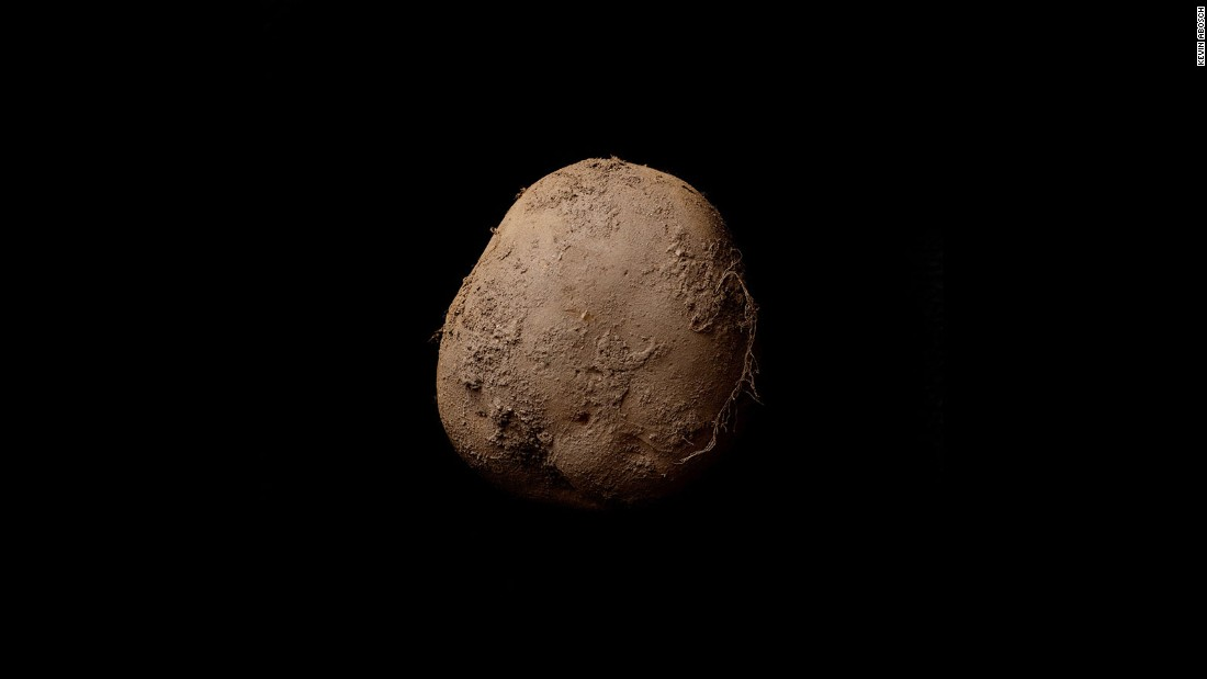 The Irish photographer's portrait of a potato was sold to an anonymous businessman for $1.08 million.